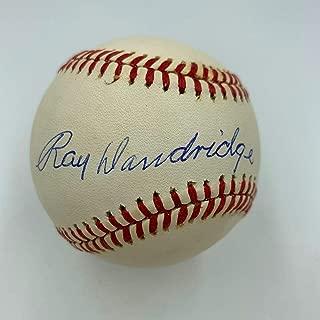 Ray Dandridge Signed Ball - Official National League COA - JSA Certified - Autographed Baseballs