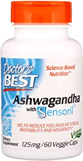 Doctors Best Ashwagandha with Sensoril 60 Caps
