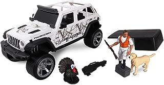 NKOK 1: 18 Realtree 8Piece Jeep Wrangler Turkey Hunting Playset (Colors May Vary)