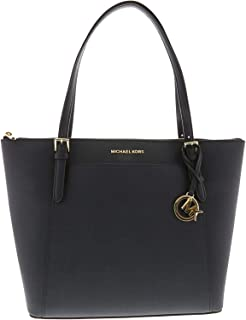 Michael Kors Womens Ciara Large East West Top Zip Leather Tote