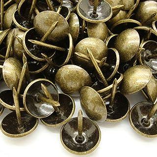 200 stks 11 × 17mm Bekleding Tacks Antieke Messing Meubels Spijkers