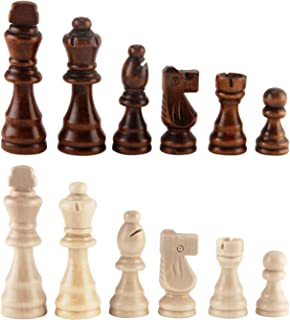 AMEROUS Wooden Chess Pieces 3.03