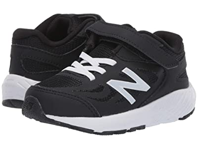 New Balance Kids 519v1 (Infant/Toddler) (Black/White) Boys Shoes