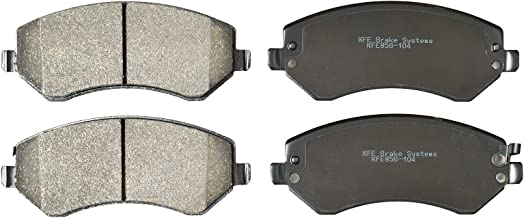 KFE Ultra Quiet Advanced KFE856-104 Premium Ceramic FRONT Brake Pad Set