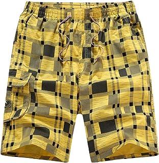 RkBaoye Men's Plus-Size Casual Fit Straight Leg Sport Baggy Pants