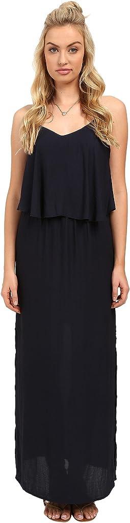 Mojo Strap Woven Maxi Dress