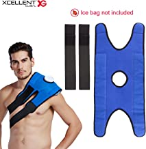 Xcellent Global Ice Bag Elastic Strap for Pain Relief Therapy Adjustable for Shoulder Waist Knee (Ice Bag NOT Included) HG219