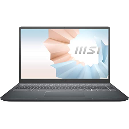 "MSI Modern 15 A11SB-011ES - Ordenador portátil de 15.6"" FullHD (Intel Core i7-1165G7, 16 GB RAM, 1 TB SSD, NVIDIA GeForce MX450, Windows 10 Home Plus) Carbon gray - Teclado QWERTY Español"