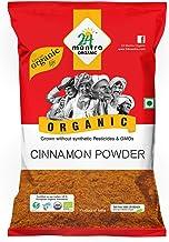 24 Mantra Organic Cinnamon (Cassia) Powder/dalchini powder, 100g