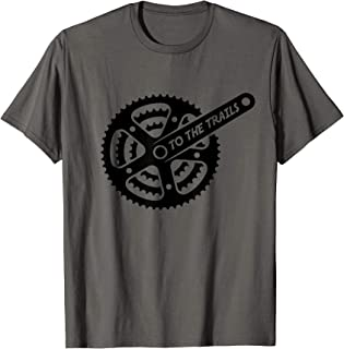 Mountain Bike | MTB | Chain Sprocket | Trail Shirt T-Shirt