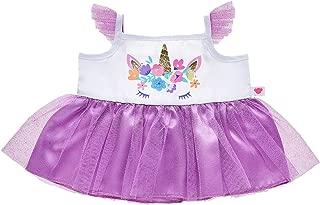 Build A Bear Workshop Purple Unicorn Dress