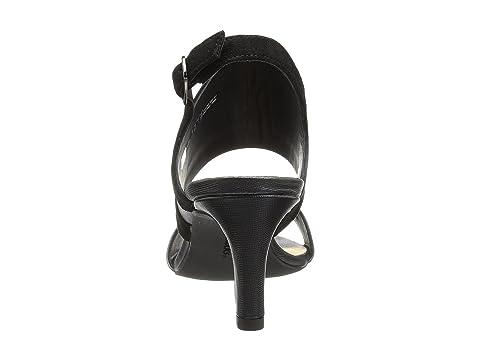 Clarks Laureti Joy Black Combination Leather Prices Discount Geniue Stockist Reliable Cheap Online Mge8m