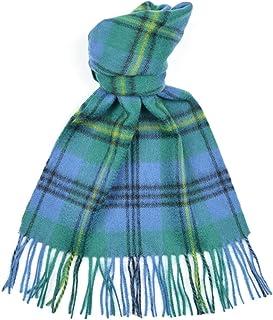 Lambswool Scottish Clan Scarf Johnstone Ancient Tartan