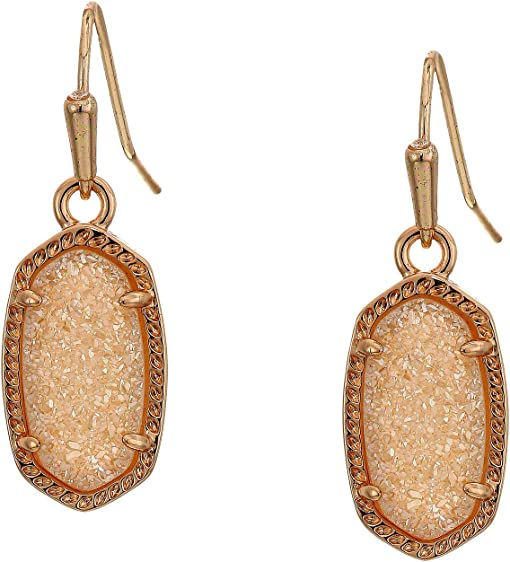 Rose Gold/Sand Drusy