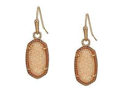 Kendra Scott Lee Earring (Rose Gold/Sand Drusy) Earring