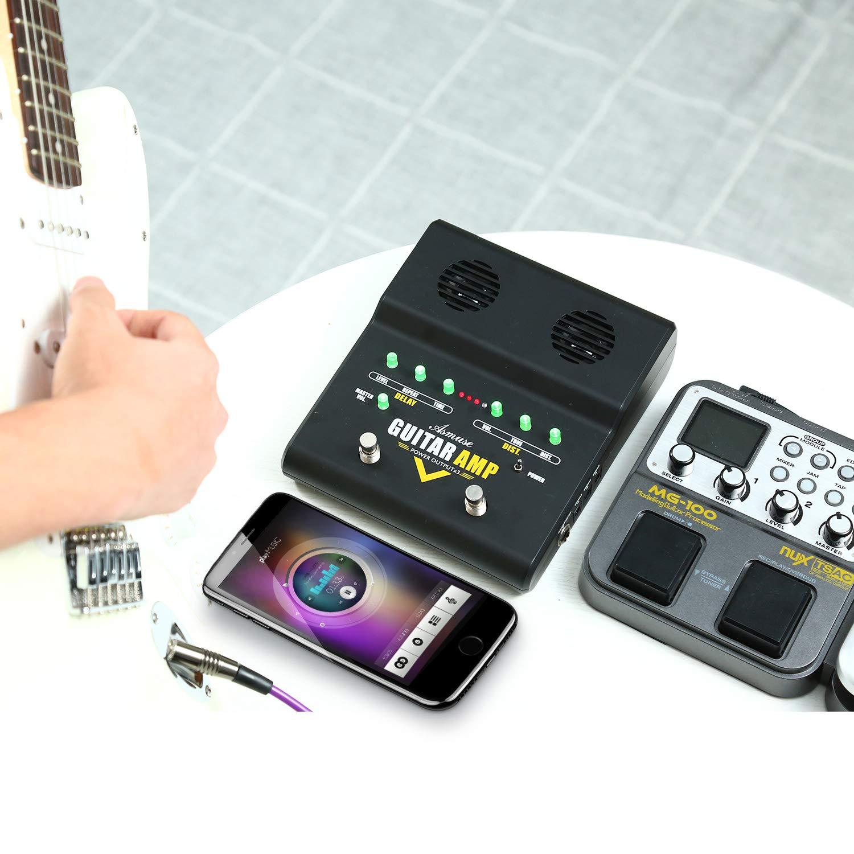Asmuse Amplificador de Guitarra Eléctrico Bajo Combo Instrumentos ...