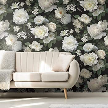 Amazing Wall Peel And Stick Large Wallpaper Floral Self Adhesive Bedroom 360cm Amazon Com