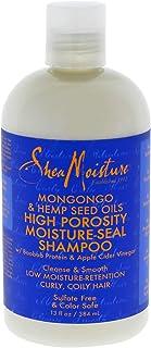 Shea Moisture Mongongo & Hemp Seed Oils High Porosity moisture-seal Shampoo