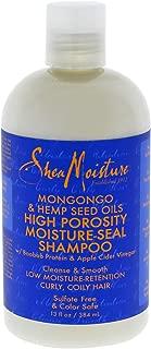 Shea Moisture Mongongo & Hemp Seed Oils High Porosity Moisture-seal Shampoo, 13 Ounce