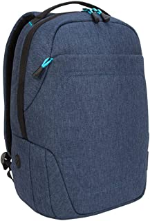 Targus TSB95201GL Groove X2 Compact Backpack designed for MacBook 15-Inch & Laptops up to 15-Inch, Navy