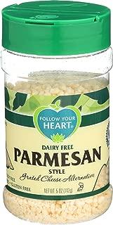 Follow Your Heart, Alternative Cheese Parmesan Vegan Grate, 5 Ounce