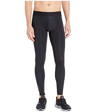 2XU Flight Compression Tights (Black/Black) Men