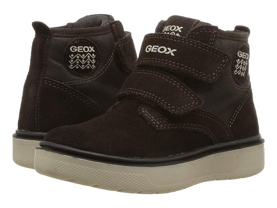 Geox Kids Riddock 2 (Toddler/Little Kid) (Brown/Navy) Boy