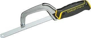 Stanley 0-15-211 Fatmax mini metallsåg (kompakt, med justerbar bladlängd, fina tänder för bearbetning av metall och plast)