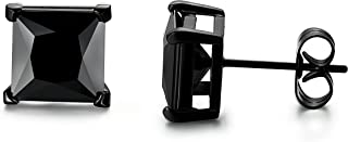 Best 7mm square earrings Reviews