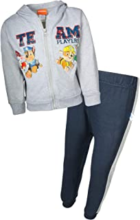 Nickelodeon Paw Patrol Boys 2-Piece Fleece Zip-up Hoodie Jogger Set (Toddler/Little Kid)