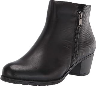 Propet Women's Tobey Ankle Boot, 7.5 Medium US Black