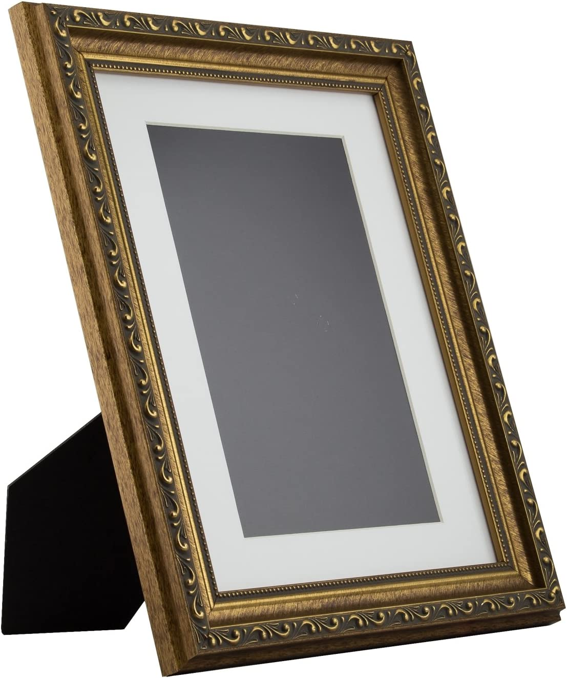 Regence Craig Frames 94870810 8x10 Inch Amber and Gold Ornate Picture Frame