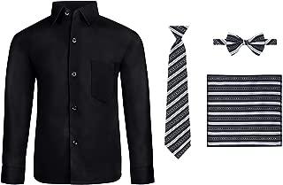 boys dress shirt with tie