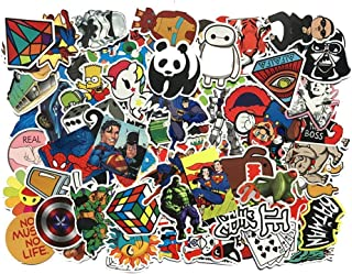 Duo Lu Tong Random Sticker 200pcs Variety Vinyl Car Sticker Motorcycle Bicycle Luggage Decal Graffiti Patches Skateboard Stickers for Laptop Stickers Sold