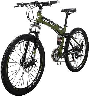 LZBIKE 自転車G6-26 マウンテンバイク 折りたたみ自転車 スチール自転車 21速シフト3×7速 自転車