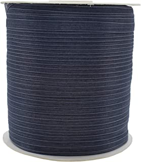 1/4 Inch Organza Ribbon 500 Yards(1 Roll)Shimmer Sheer Ribbon for Gift Wrappping Decoration Craft (29059 Gray, 0.25 in)