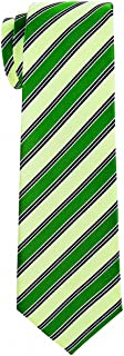 Retreez Modern Preppy Striped Woven Boy's Tie - 8-10 years - Various Colors