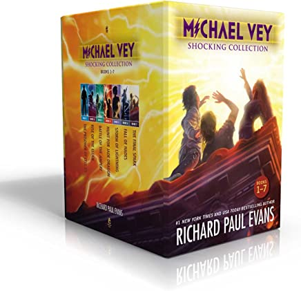 Michael Vey Shocking Collection: The Prisoner of Cell 25 / Rise of the Elgen / Battle of the Ampere / Hunt for Jade Dragon / Storm of Lightning / Fall of Hades / The Final Spark