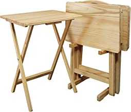 Best 5 piece folding tray table set Reviews