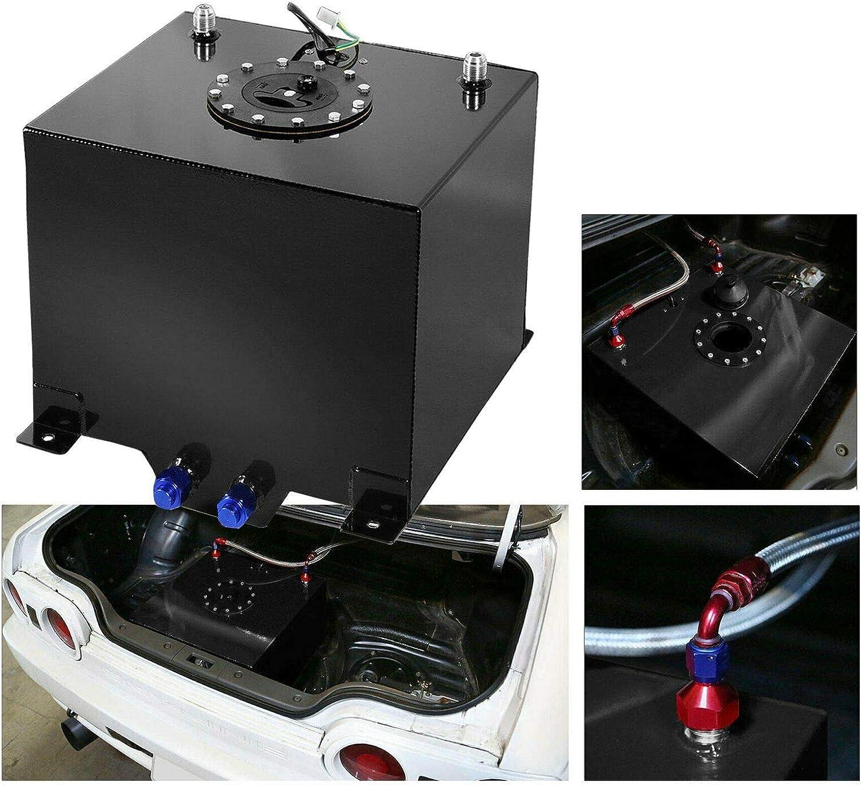 EASYBERG 20 Gallon 75L Fuel Cell Ra Tank Black Coated Aluminum Baltimore Mall Max 65% OFF