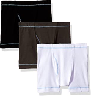 db50fea565be City Threads Boys' Boxer Briefs Underwear 100% Cotton 3-Pack Made in The