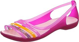 Crocs Women's Isabella Huarache Flat Jelly Sandal