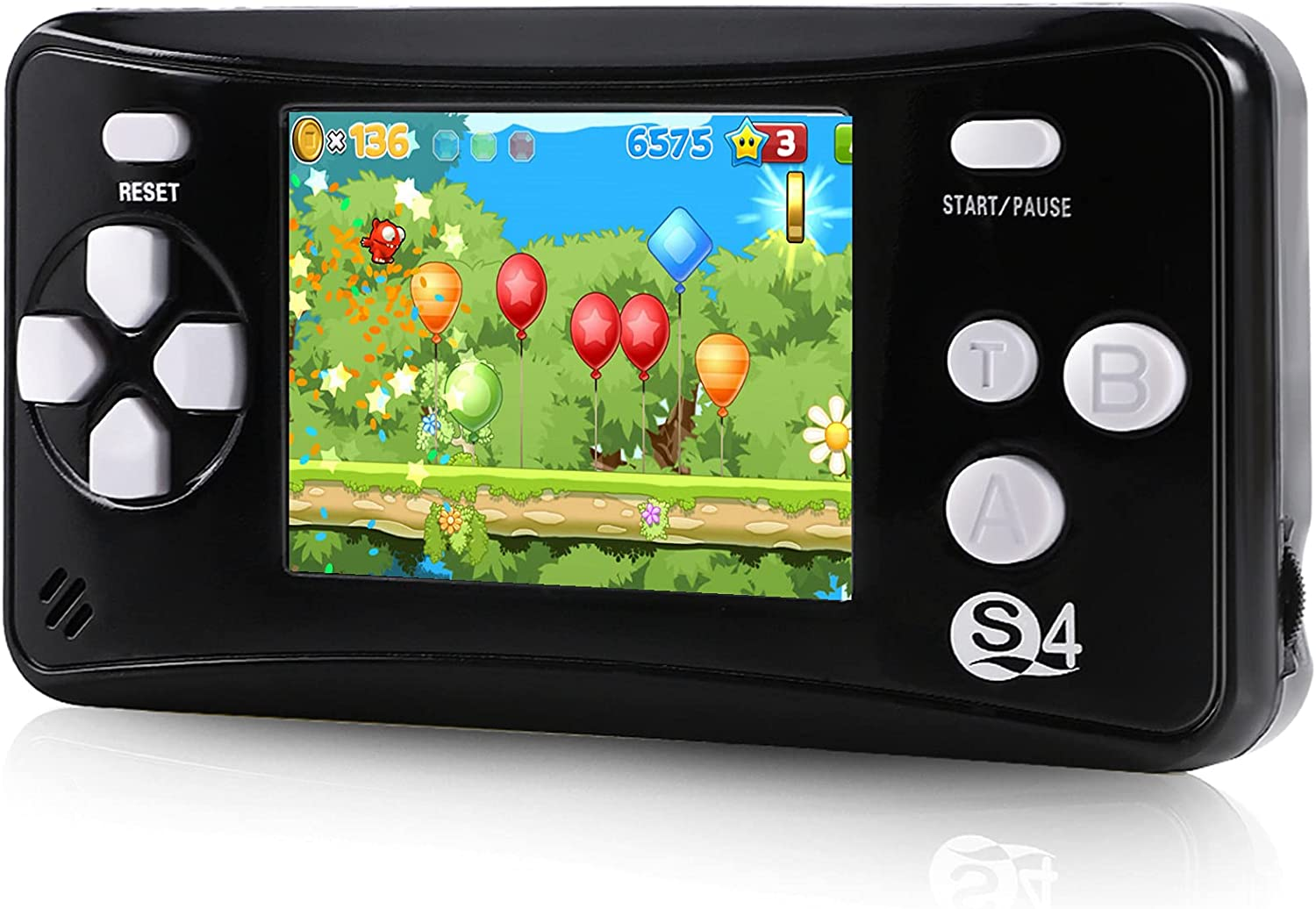 QoolPart Retro FC Handheld Games for Color Kids 2.5'' Superior Max 69% OFF Adults Scr