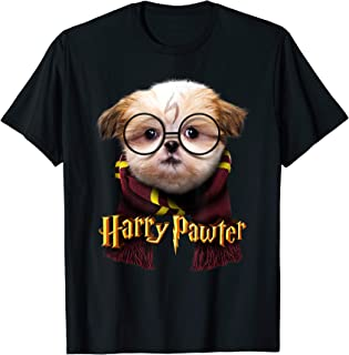 Harry Pawter - Cute and Funny Shih Tzu puppy Dog Lover gift T-Shirt