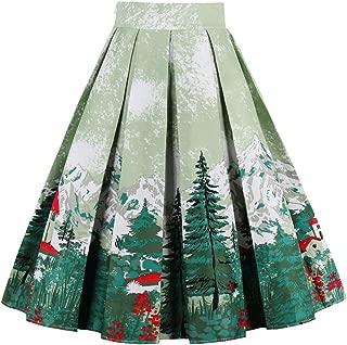 Best ladies christmas skirt Reviews