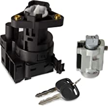 For Chevy Malibu Impala Olds Alero Pontiac Grand Am Switch Ignition Lock Cylinder With 2 Keys Replace Number 12458191, 22599340 (Model A)