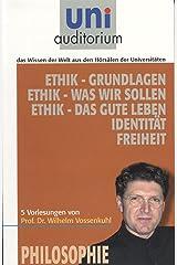 Ethik: Philosophie (uni auditorium - Taschenbuch) Kindle Ausgabe