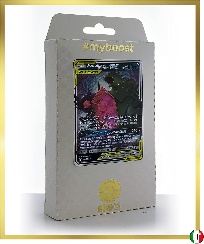 Coffret de 10 Cartes Pok/émon Fran/çaises Lib/égon-GX 110//236 #myboost X Soleil /& Lune 12 Eclipse Cosmique