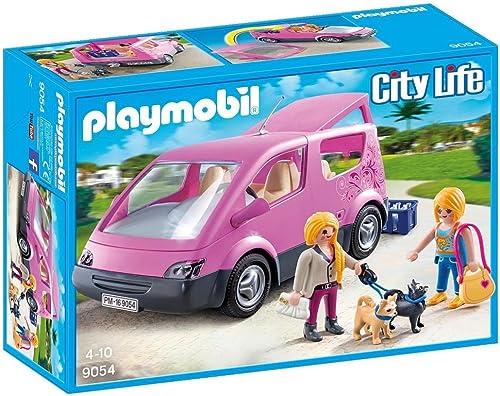 ¡envío gratis! Playmobil Playmobil Playmobil 9054- CityVan - Furgoneta de Juguete  70% de descuento