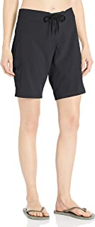 Kanu Surf Women's Marina Solid Stretch Boardshort, Black, 12